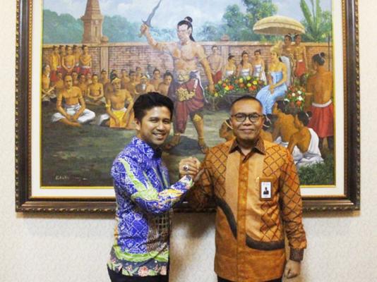 Audiensi Direktur Utama PT Garam dengan Wakil Gubernur Jawa Timur